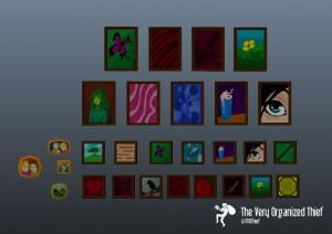 Pixel Art paintings created by Elise.