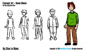 Some early concept designs of the Owner